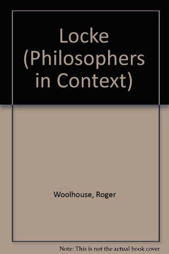 9780710804679: Locke (Philosophers in Context)