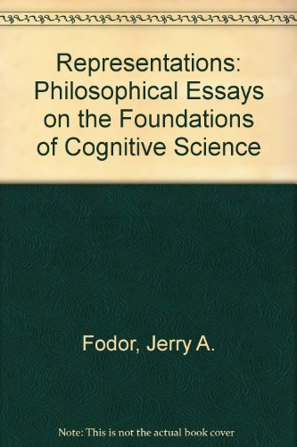 Representations: Philosophical Essays on the Foundations of Cognitive Science (9780710805324) by Jerry A. Fodor