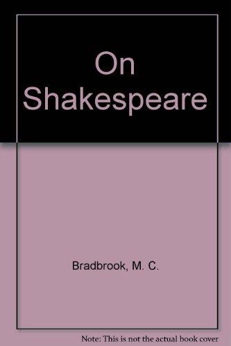 shakespeare bradbrook m c