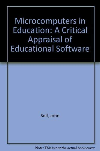 9780710809360: Microcomputers in Education: A Critical Evaluation of Educational Software