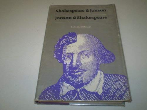 Shakespeare and Jonson (0710813309) by McDonald, Russ