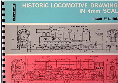9780711000872: Historic Locomotive Drawings in 4mm Scale
