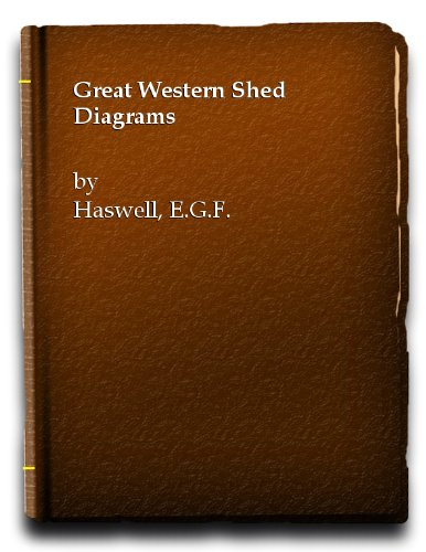 9780711000964: Great Western Shed Diagrams