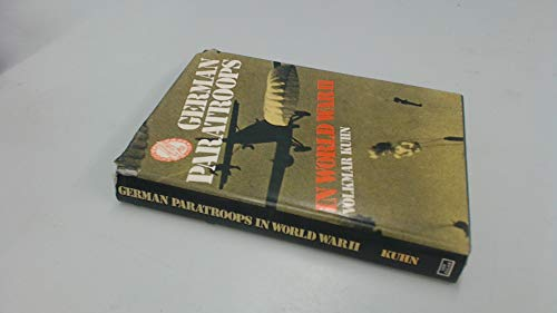 9780711007598: German Paratroops in World War Two
