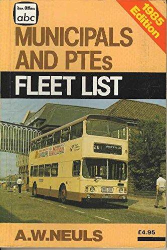 9780711015326: A. B. C. Municipals and Passenger Transport Executives Fleetlist 1985