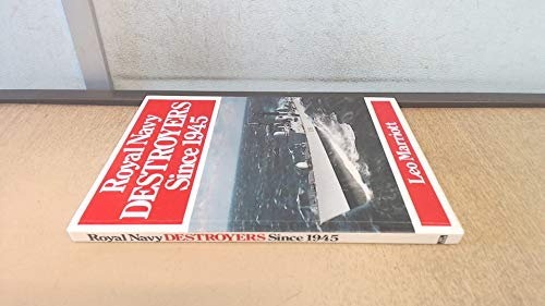 9780711018174: Royal Navy Destroyers Since 1945