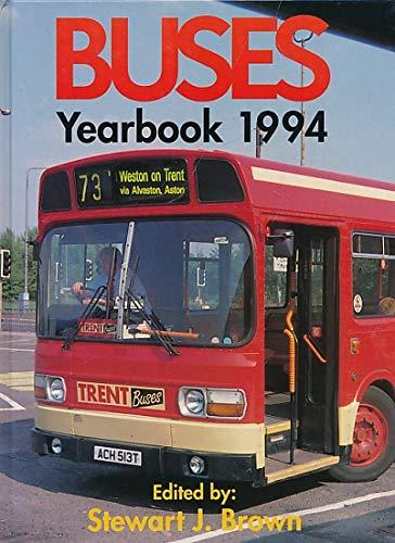 Buses Yearbook 1994: Brown, Stewart J