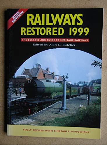 9780711026438: Railways Restored
