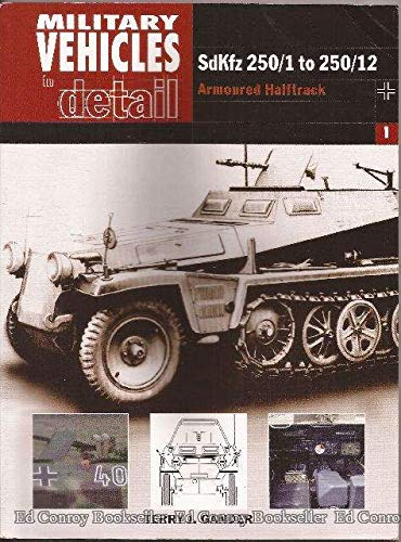 9780711029422: Military Vehicles in Detail 1: Sdkfz 250/1 to 250/12: Armoured Halftrack
