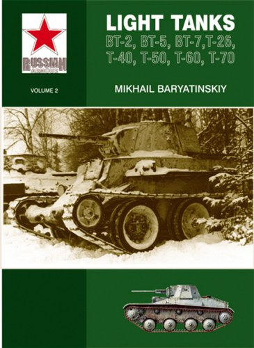 9780711031630: Light Tanks: T-27, T-38, BT, T-26, T-40, T-50, T-60, T-70: Light Tanks - BT-2, BT-5, BT-7, T-26, T-40, T-50, T-60 (Russian Armour)