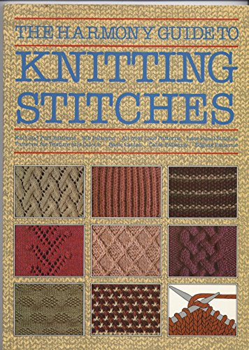 9780711100138: The Harmony Guide to Knitting Stitches: 001