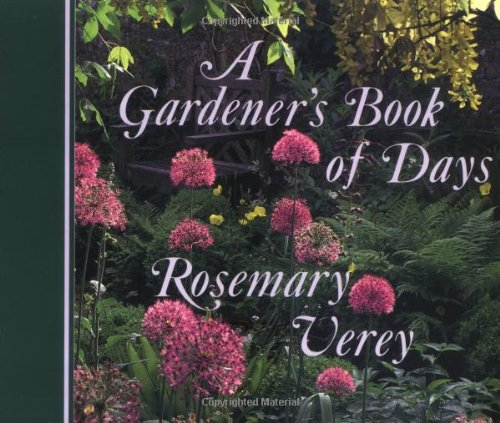 A Gardener's Book of Days (0711207488) by Verey, Rosemary