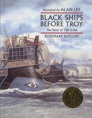 9780711215221: Black Ships Before Troy: The Story of the Iliad