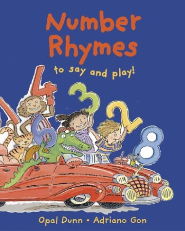 9780711220980: Number Rhymes to Say and Play