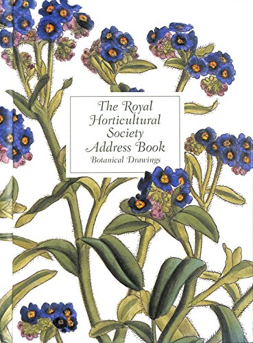 9780711221376: The Royal Horticultural Society Address Book: Botanical Drawings - John Lindley 1799-1865 (RHS)