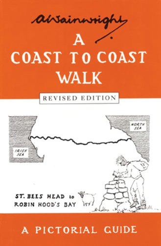 9780711222366: A Coast to Coast Walk (Wainwright Pictorial Guides)