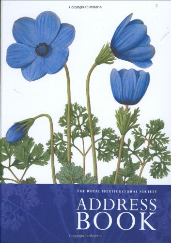 9780711227323: The Royal Horticultural Society Address Book 2008