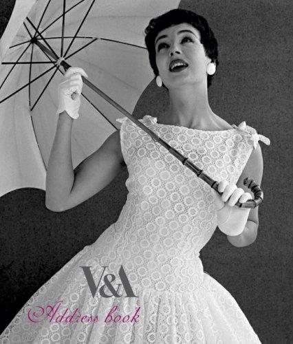V&A: Pocket Address Book: Haute Couture: London & Paris 1947-1957: The Editors at ...