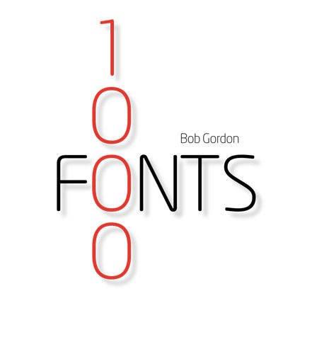 9780711228498: 1000 Fonts