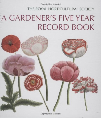 9780711228566: A Gardener's Five Year Record Book: Royal Horticultural Society
