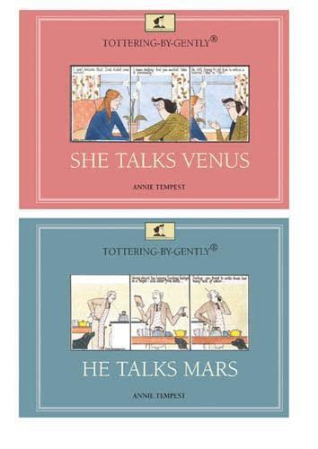 9780711232617: Tottering-by-Gently: She Talks Venus, He Talks Mars