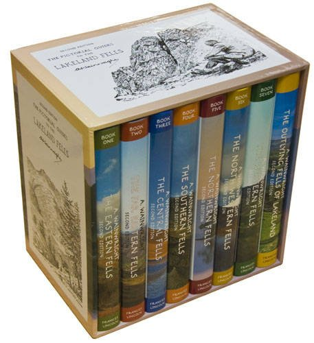 9780711232716: Complete Anniversary Boxed Set of Pictorial Guides to the Lakeland Fells (Lake District & Cumbria)
