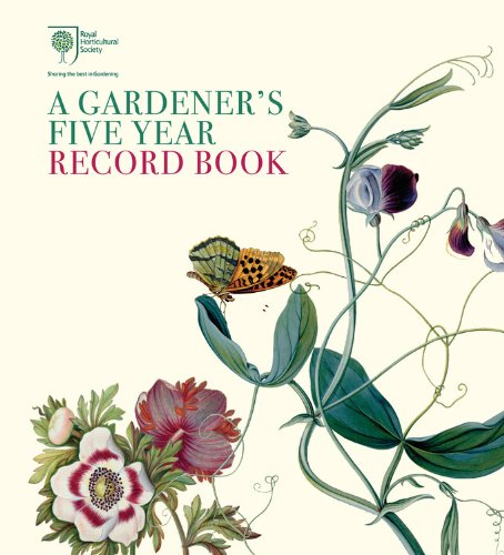 9780711234178: Royal Horticultural Society A Gardener's Five Year Record Book