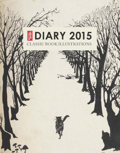British Library Pocket Diary 2015: Classic Book Illustrations: British Library