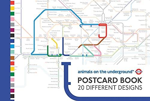9780711235861: Animals on the Underground Postcard Book
