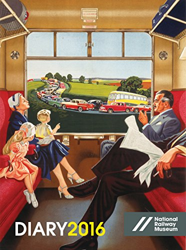 9780711236158: National Railway Museum Desk Diary 2016