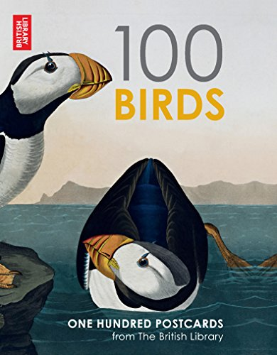 9780711236233: British Library 100 Birds from around the World: 100 Postcards in a Box