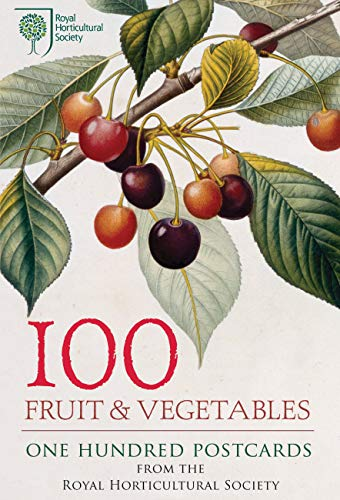 9780711236240: 100 Fruit & Vegetables from the RHS: 100 Postcards in a Box