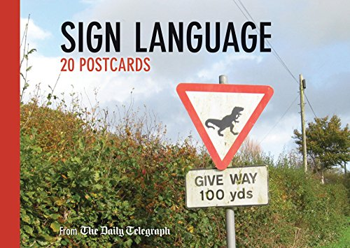 9780711236257: Daily Telegraph Sign Language Postcard Book (Telegraph Books)