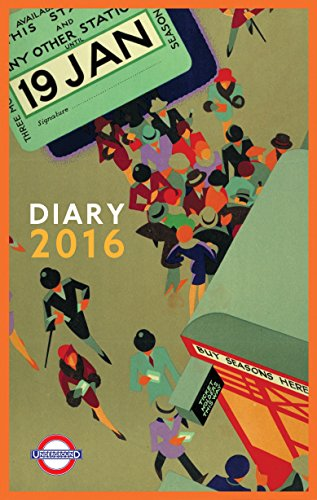 9780711236387: London Underground Poster Diary 2016 (Diaries 2016)