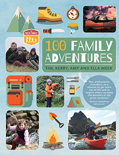 9780711236615: 100 Family Adventures (Meek Family)