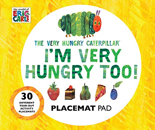 9780711237490: The Very Hungry Caterpillar I'm Very Hungry Too - Placemats Book