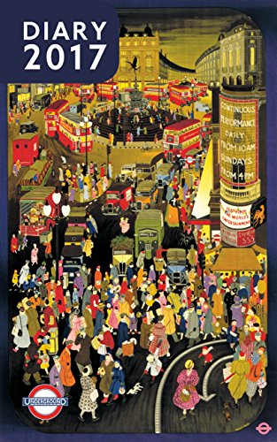 9780711237940: London Underground Poster Diary 2017 (Diaries 2017)