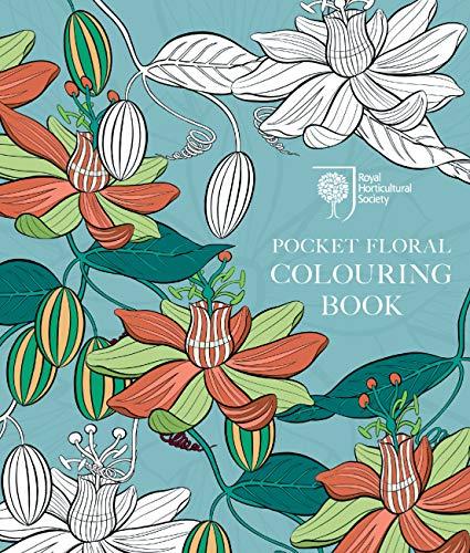 RHS Pocket Floral Colouring Book: Royal Horticultural Society