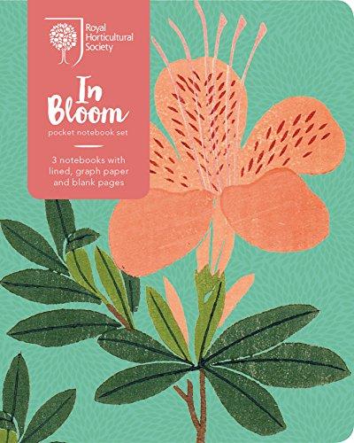 RHS In Bloom Pocket Notebook Set: RHS