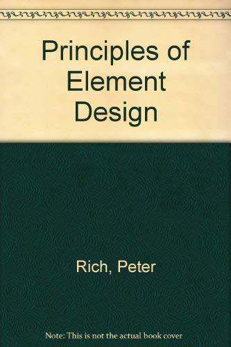 9780711446137: Principles of Element Design