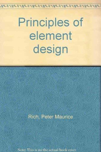 9780711446144: Principles of Element Design