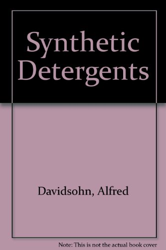 9780711449220: Synthetic Detergents