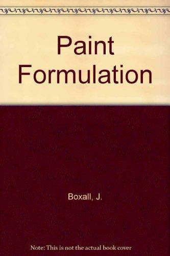 9780711455191: Paint Formulation