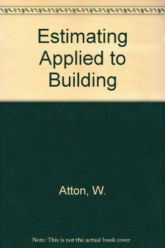 9780711457515: Estimating Applied to Building