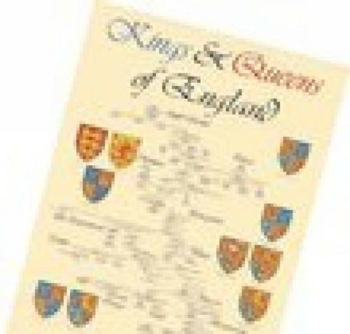 9780711720183: Kings and Queens of England Poster