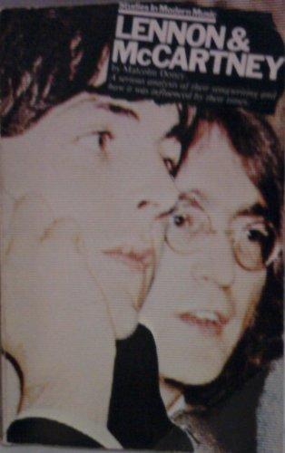 9780711900059: Lennon and McCartney (Studies in modern music)