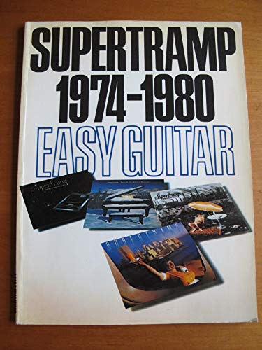 9780711900431: Supertramp 1974-1980: Easy guitar