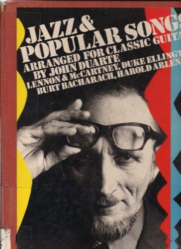 9780711901605: Jazz & Popular Songs Arranged for Classic Guitar by John Duarte