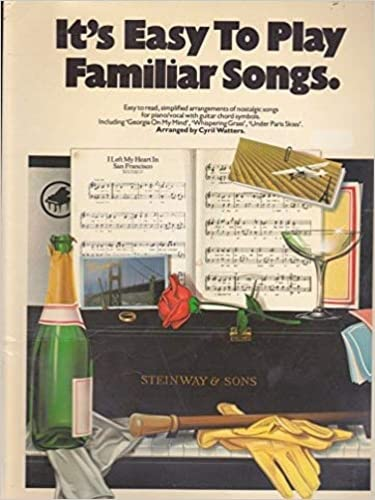 9780711904880: It's easy to play familiar songs: Easy to read, simplified arrangements of nostalgic songs for piano/vocal with guitar chord symbols