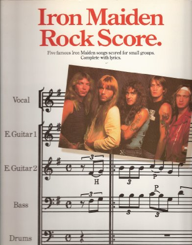 9780711905559: Iron Maiden rock score: [five famous Iron Maiden songs scored for small groups]